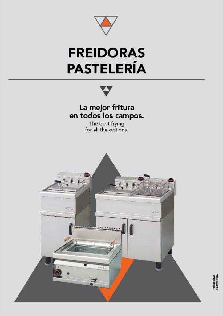 freidoras pasteleria web rhostelev s l maquinaria de
